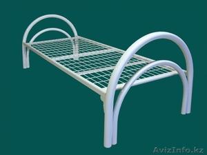 Кровати железные для казарм, кровати для строителей, кровати металлические опт. - Изображение #1, Объявление #1428549