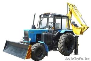 Экскаватор-бульдозер на базе трактора МТЗ-82.1 - Изображение #1, Объявление #1546424