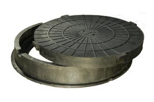 Полимерно-песчаный люк Тип «Л» лёгкие  - Изображение #1, Объявление #1658802