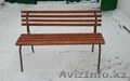 Скамейка садово-парковая со спинкой