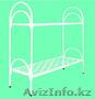Кровати металлические для казарм, кровати двухъярусные для общежитий, оптом - Изображение #2, Объявление #1436420